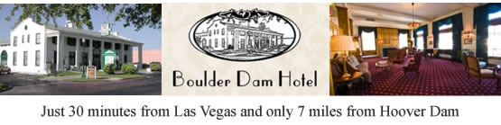 Book at room at the Boulder Dam Hotel