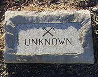 Unknown Grave, Dayton Nevada