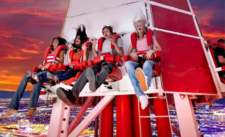 Thrill Ride at the Stratosphere Tower, Las Vegas